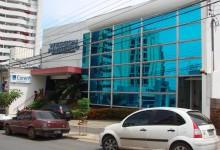 Fachada da nova sede do Coren
