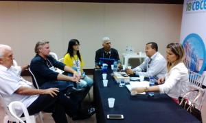 Reunião entre Coren/MT, Cofen e entidades apoiadoras